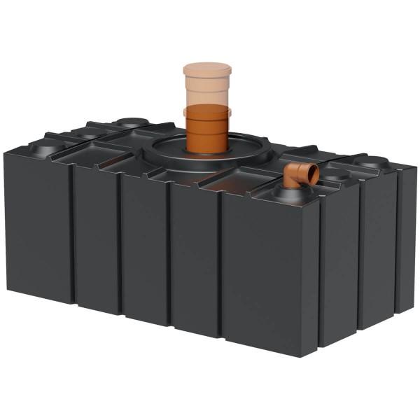 Abwasserflachtank AQa.Line 2000 Liter