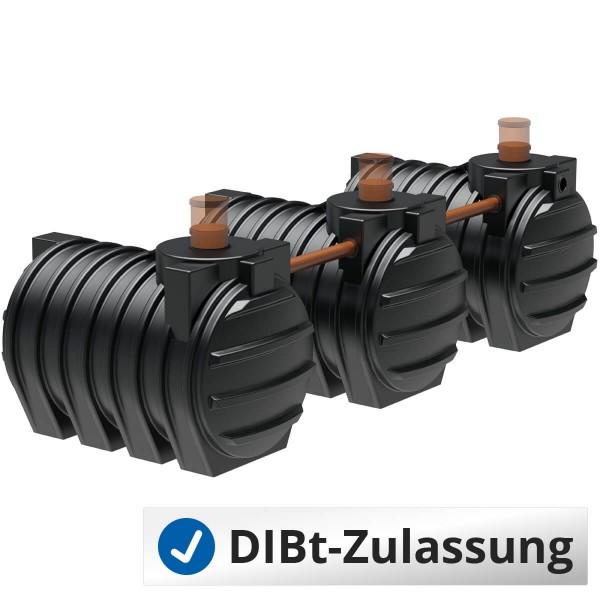 Abwassersystem AQa.Line 9000 Liter (mit DIBt-Zulassung) – grundwasserstabil