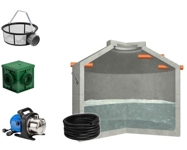 Regenwasseranlage Hydrophant 5600L Garten