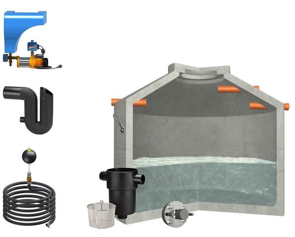 Regenwasseranlage Hydrophant 5600Liter Haus