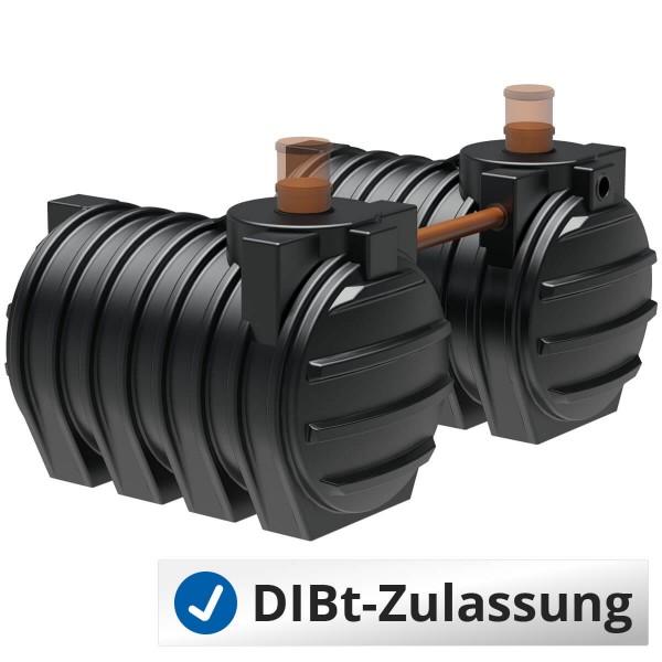 Abwassertank AQa.Line 6000 Liter Duo (mit DIBt-Zulassung)