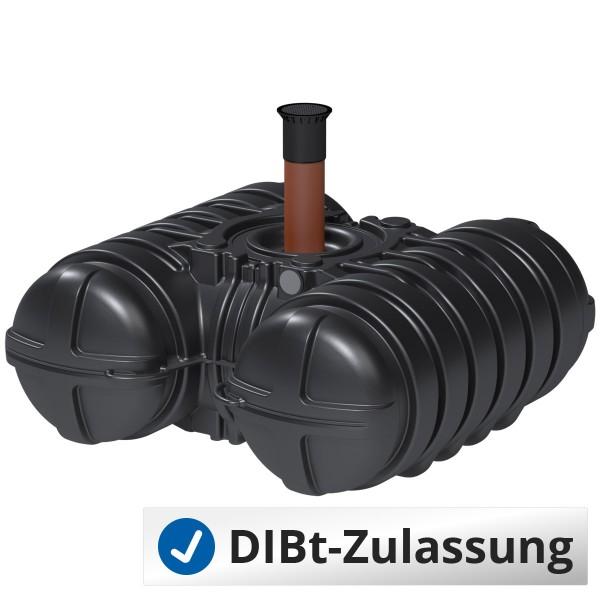 Abwasserflachtank Twinbloc 3500 Liter (mit DIBt-Zulassung)