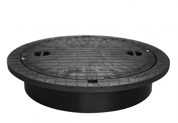 PE-Deckel von Stabiflex- kindersicher, begehbar bis 200 kg