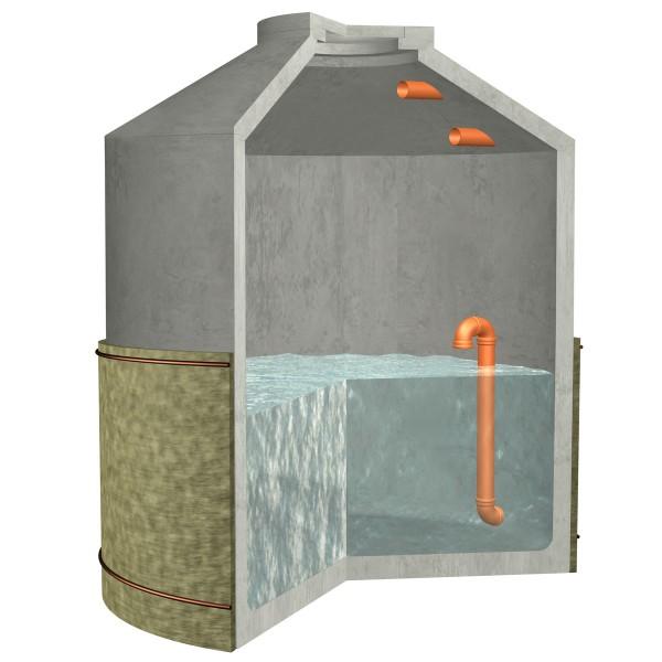 Versickerungszisterne Hydrophant 9200 Liter