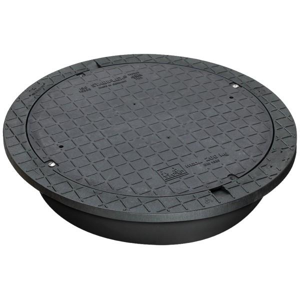 Stabiflex PE-Abdeckung für Kunststoffzisternen