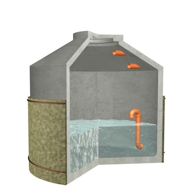 Versickerungszisterne Hydrophant 6850 Liter