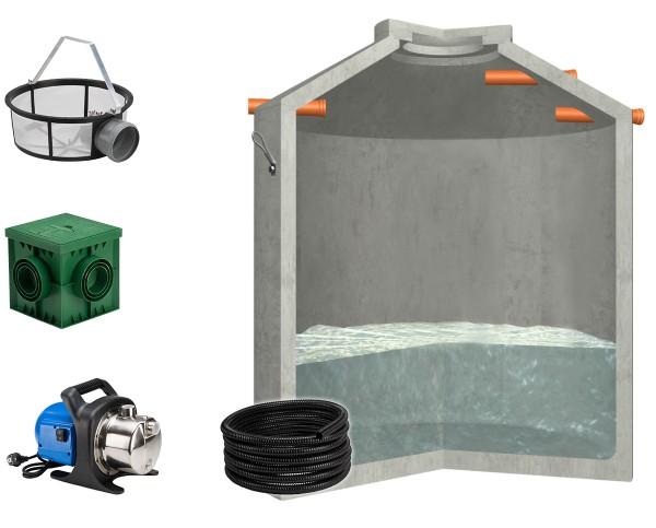 Regenwasseranlage Hydrophant 9200L Garten